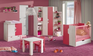 45c2fa1b8f0c Detská izba s postieľkou Noly 6 - Nábytok Poprad