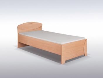 03f4ef72965b Lacná jednolôžková posteľ pre študentov Diana - Nábytok Poprad