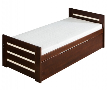 dc733354f2ac Drevená posteľ pre deti s prístelkou Dresill - Nábytok Poprad